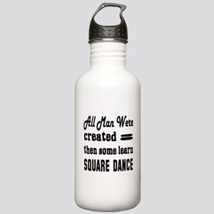 Some Learn Square danc Stainless Water Bottle 1.0L