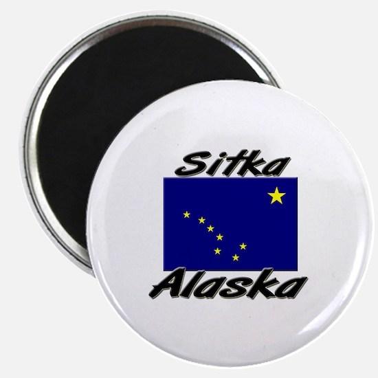 Sitka Alaska Magnet