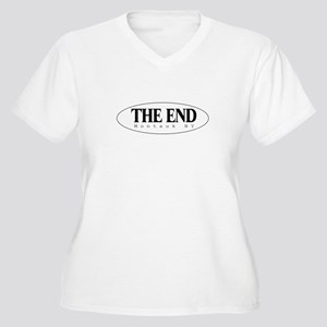 The End Women's Plus Size V-Neck T-Shirt