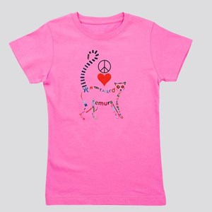 Lemur Typography T-Shirt