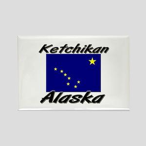 Ketchikan Alaska Rectangle Magnet