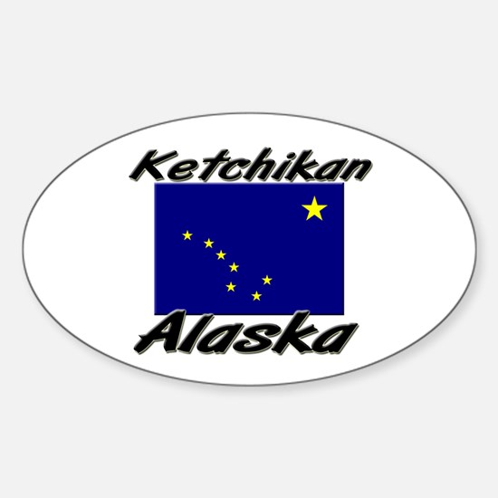 Ketchikan Alaska Oval Decal