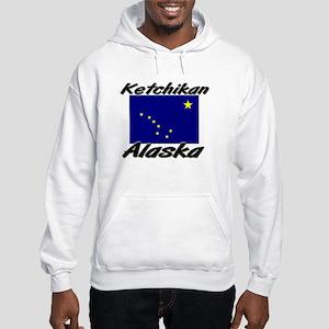 Ketchikan Alaska Hooded Sweatshirt