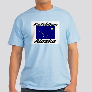 Ketchikan Alaska Light T-Shirt