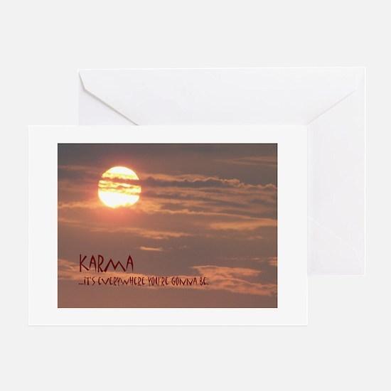 Karma Greeting Cards
