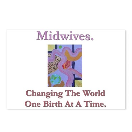 Midwives Change the World Postcards (Package of 8)