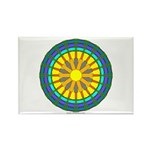 Sun Web Rectangle Magnet (100 pack)