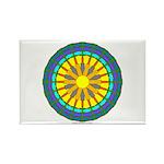 Sun Web Rectangle Magnet (10 pack)