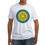 Sun Web Fitted T-Shirt