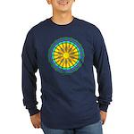 Sun Web Long Sleeve Dark T-Shirt