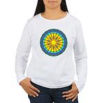 Sun Web Women's Long Sleeve T-Shirt