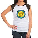 Sun Web Women's Cap Sleeve T-Shirt