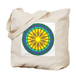 Sun Web Tote Bag