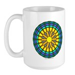 Sun Web Large Mug