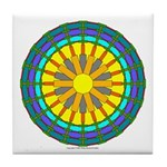 Sun Web Tile Coaster