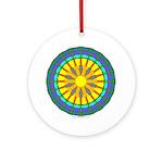 Sun Web Ornament (Round)