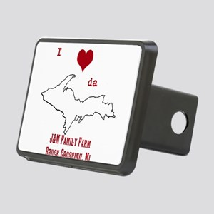 Yooper Love Hitch Cover