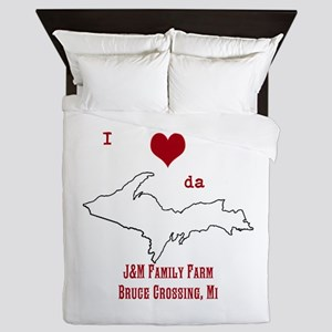 Yooper Love Queen Duvet