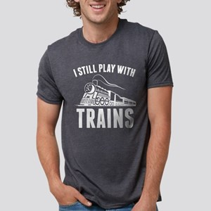 StillPlayTrains1B T-Shirt