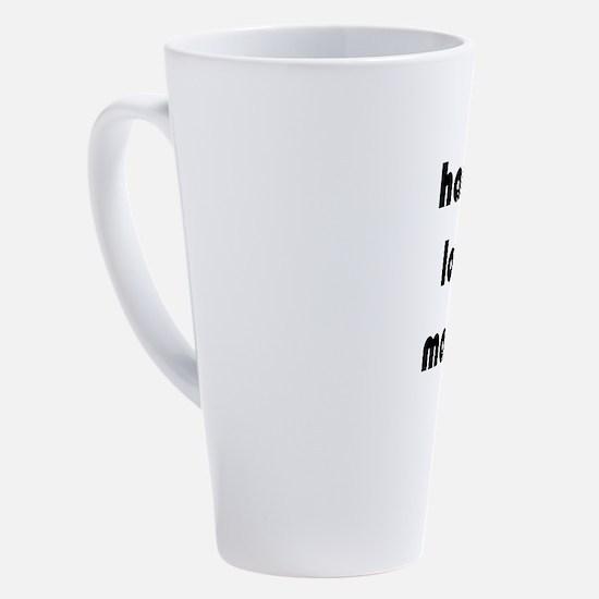 Unique Fun valentine 17 oz Latte Mug