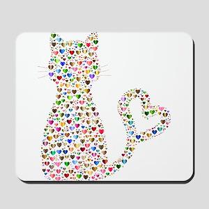 Pattern Cat Mousepad
