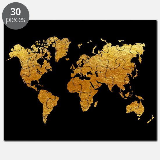 Cool Faux gold Puzzle
