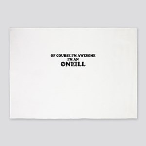 Of course I'm Awesome, Im ONEILL 5'x7'Area Rug