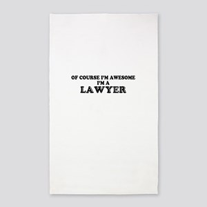 Of course I'm Awesome, Im LAWYER Area Rug