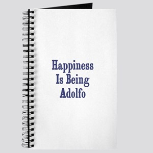 Happiness is being Adolfo Journal