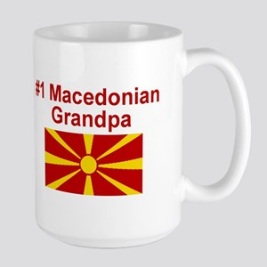 #1 Macedonian Grandpa Mugs