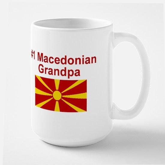 #1 Macedonian Grandpa Mugs