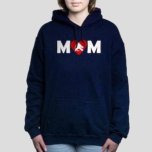 Hockey Goalie Heart Mom Sweatshirt
