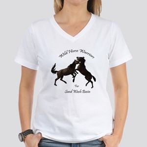 Wild Horse Warriors for Sand Wash Basin T-Shirt