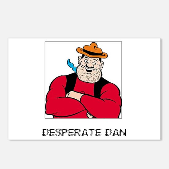 DESPERATE DAN! Postcards (Package of 8)