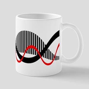 Sound Waves Motif Mugs