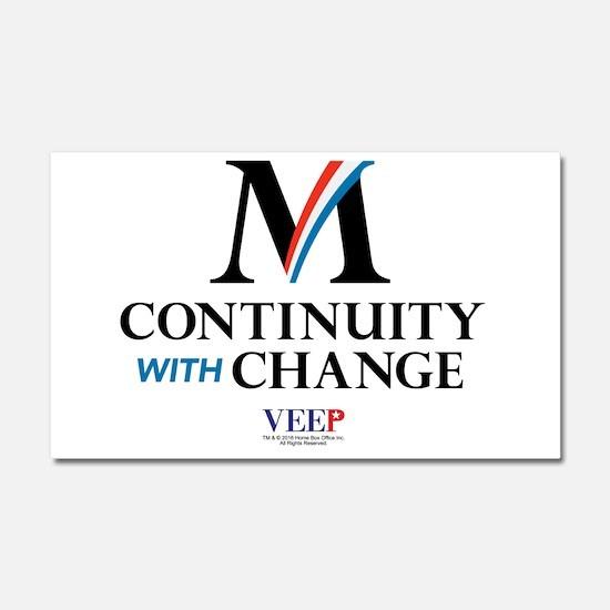 Veep Continuity Change Car Magnet 20 x 12