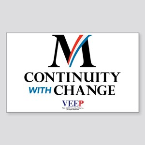 Veep Continuity Change Sticker (Rectangle)