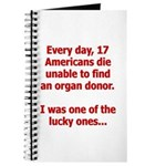 Organ Donation - I Was Lucky Journal