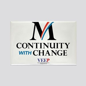 Veep Continuity Change Rectangle Magnet