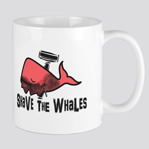 Shave The Whales Mugs