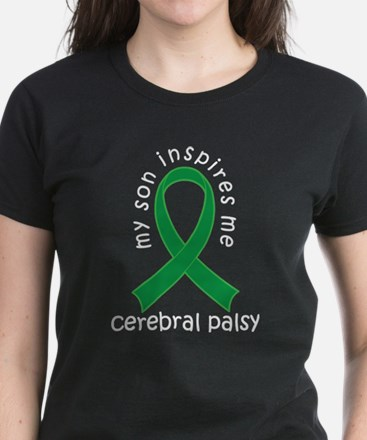 Cerebral Palsy Son Women's Dark T-Shirt