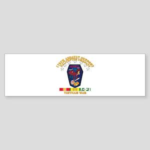 179th ASH Co - VN War SVC Ribbons Sticker (Bumper)