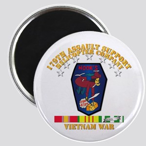 179th Ash Co - Vn War Svc Ribbons Magnet Magnets