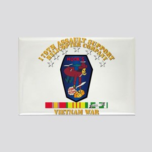 179th Ash Co - Vn War Svc Ribbons Magnets