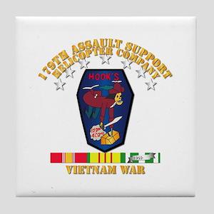 179th ASH Co - VN War SVC Ribbons Tile Coaster
