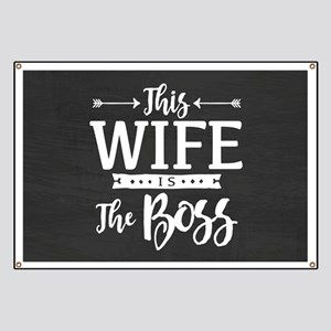 Wife Is Boss Banner