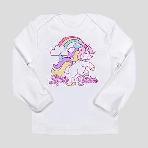 Little Sister Unicorn Long Sleeve Infant T-Shirt