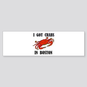 BOSTON CRABS Bumper Sticker