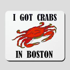 BOSTON CRABS Mousepad