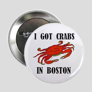 BOSTON CRABS Button